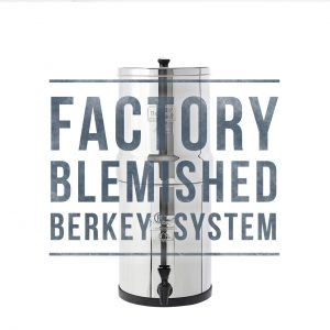 Berkey Water Filter System Factory Blemished