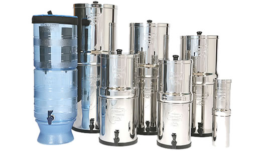 Compilation of Berkey Water Filter Systems